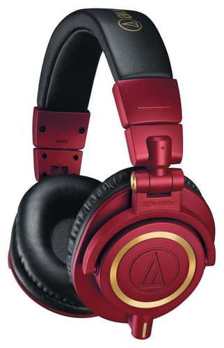 Наушники закрытого типа Audio-Technica ATH-M50xRD наушники закрытого типа audio technica ath m50 x wh