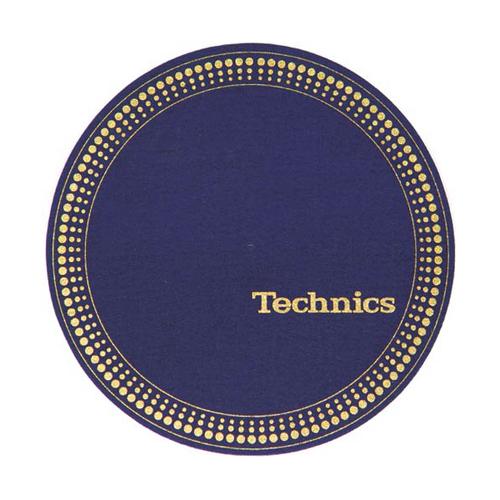 Слипмат Technics Slipmats Strobo Blue-Golden technics technics rp dj1215e s