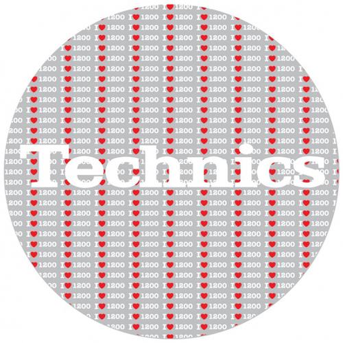 Слипмат Magma LP Slipmat Technics 1200 Love technics technics rp dj1215e s