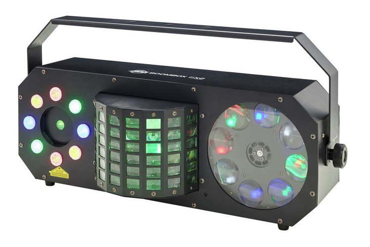 Многолучевой прибор AMERICAN DJ Boom Box FX2 american dj bubble junior купить