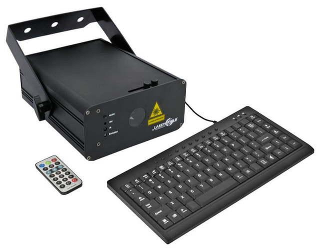 Лазер RGB Laserworld EL-500RGB KeyTex