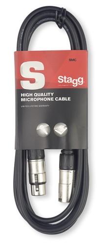 Кабель микрофонный STAGG SMC3 кабель микрофонный invotone ipc1210