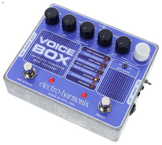Моделирующая и специальная педаль эффектов Electro-Harmonix Voice Box цена и фото