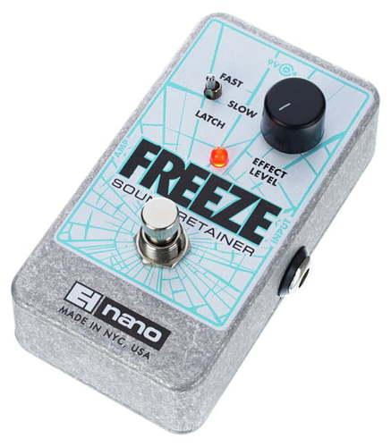 Моделирующая и специальная педаль эффектов Electro-Harmonix Freeze Sound Retainer цена и фото