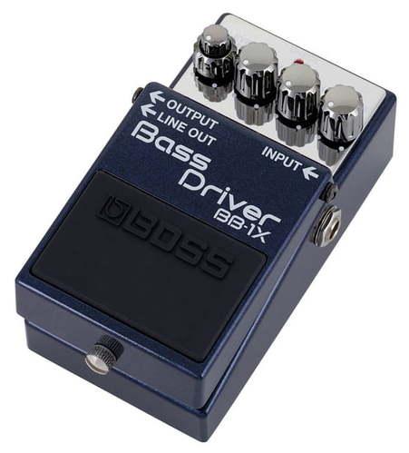 Педаль для бас-гитары Boss Bass Driver BB-1X комбо для гитары roland cube 60xl bass
