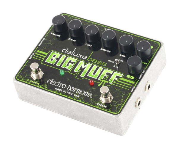 Педаль для бас-гитары Electro-Harmonix Deluxe Bass Big Muff Pi комбо для гитары roland cube 20xl bass
