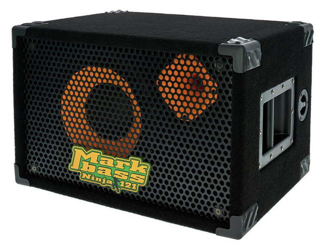 Кабинет для бас-гитары Markbass Traveler 121 Ninja усилитель кабинет и комбо для бас гитары markbass mini cmd 121p