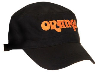 Orange Cadet Hat Black Orange Logo цена 2017