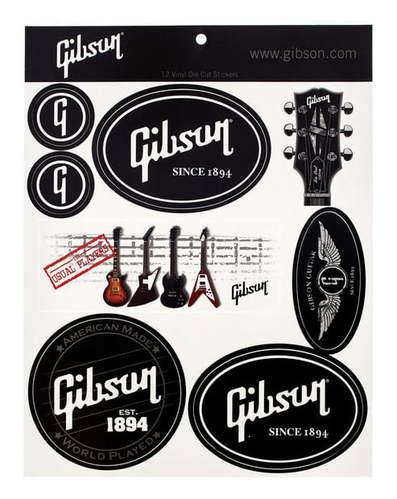 Gibson Logo Stickers family stickers в москве