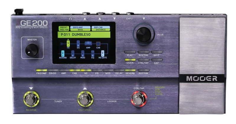 Гитарный процессор для электрогитары Mooer GE 200