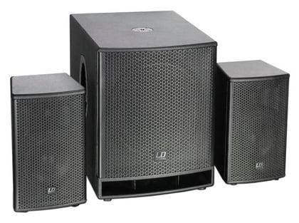 Комплект акустических систем LD Systems Dave 18 G3 стойка под акустику ld systems dave 8 set 2