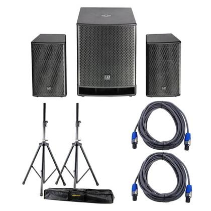 Комплект акустических систем LD Systems Dave 18 G3 Bundle стойка под акустику ld systems dave 8 set 2