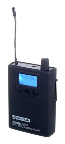 Элемент системы персонального мониторинга LD Systems MEI 100 G2 BPR стойка под акустику ld systems dave 8 set 2