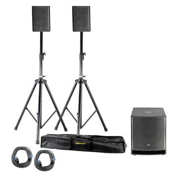 Комплект акустических систем LD Systems Dave 15 G3 Bundle стойка под акустику ld systems dave 8 set 2
