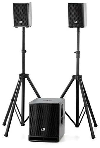 Комплект акустических систем LD Systems Dave 10 G3 Bundle стойка под акустику ld systems dave 8 set 2