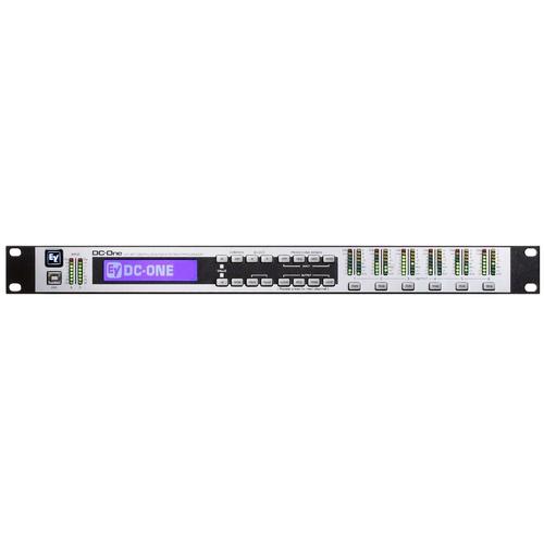 Контроллер акустических систем Electro-Voice DC-One контроллер акустических систем dbx driverack pa 2