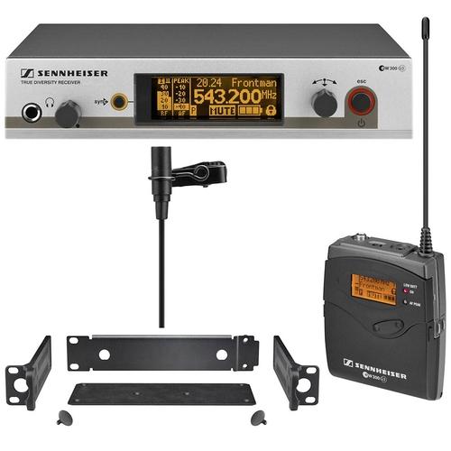 Радиосистема с петличным микрофоном Sennheiser EW 312 G3 радиосистема sennheiser ew 100 945 g3 b x