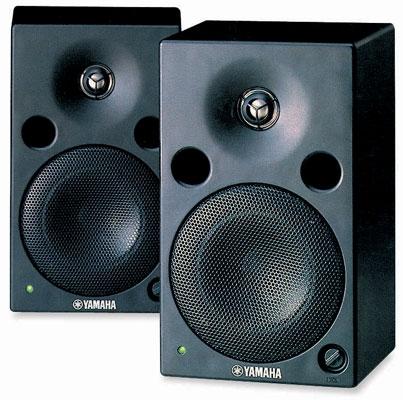 Активный студийный монитор Yamaha MSP5 STUDIO студийные мониторы tascam vl s3bt