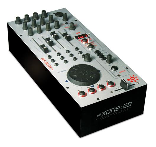 MIDI, Dj контроллер Allen & Heath XONE:2D