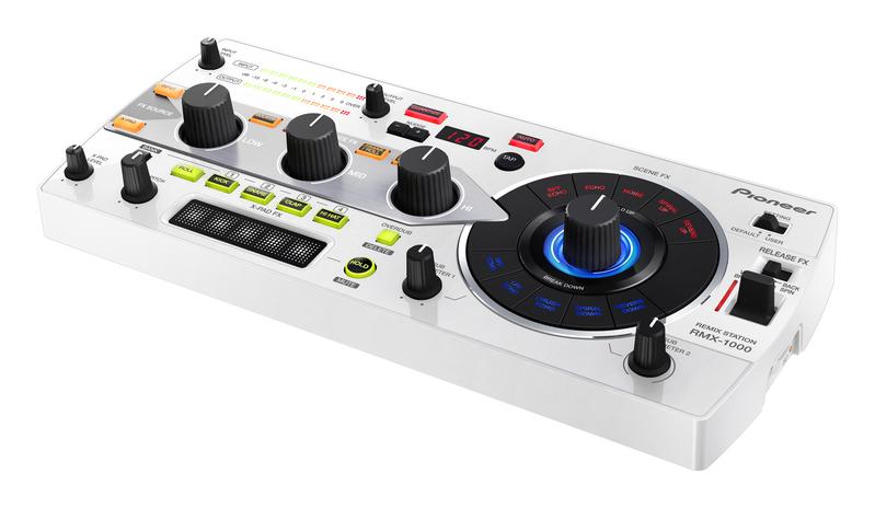 Dj процессор эффектов Pioneer Remix Station RMX-1000 Pearl White