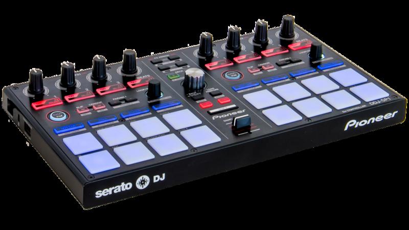 MIDI, Dj контроллер Pioneer DDJ-SP1 гарнитура philips shq3405bl 00 сине черный