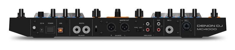 MIDI, Dj контроллер Denon MC4000 midi dj контроллер dj techtools midi fighter twister wh