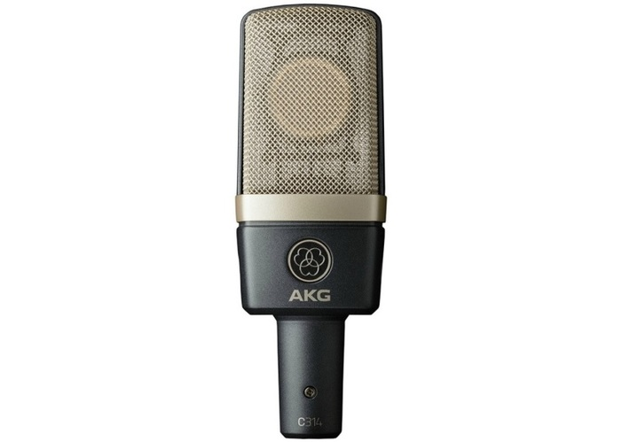 Микрофон с большой мембраной для студии AKG C314 Matched Pair akg y 20u