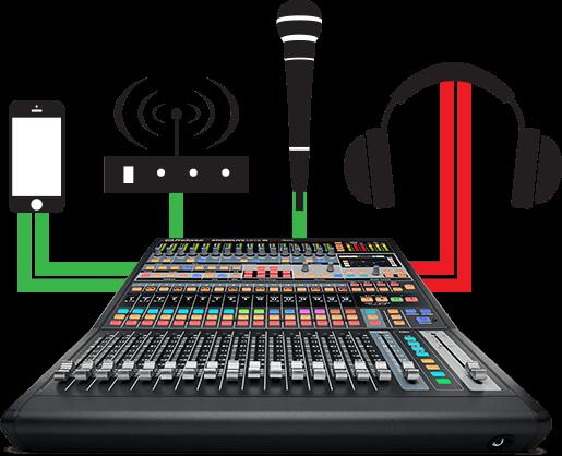 все цены на  Контроллер, элемент управления PreSonus StudioLive CS18AI  онлайн