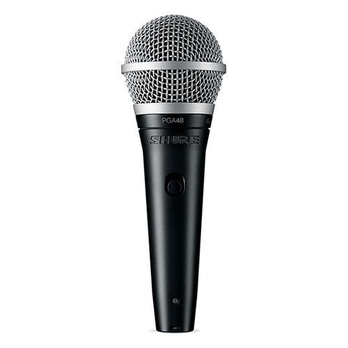 Динамический микрофон Shure PGA48-QTR-E вокальный микрофон shure pga58 qtr e