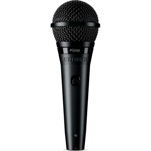 Динамический микрофон Shure PGA58-XLR-E вокальный микрофон shure pga58 qtr e