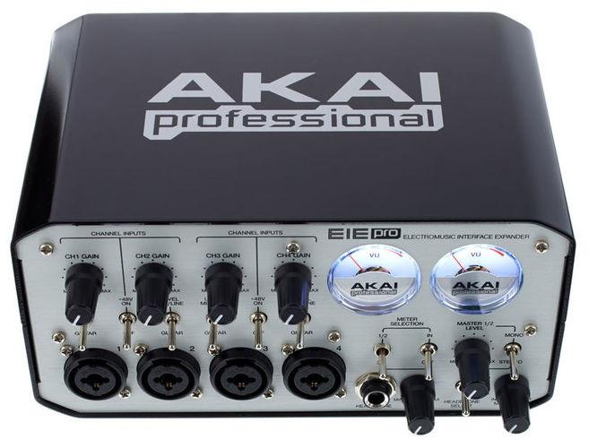 Звуковая карта внешняя AKAI EIE PRO huayuan внешняя звуковая карта 5 1 surround usb powered ноутбук ноутбук адаптер аудио