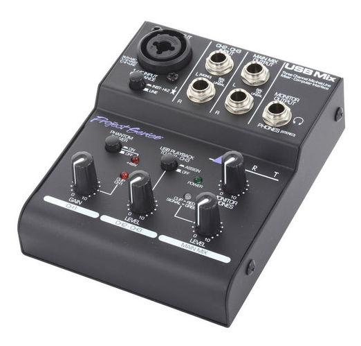 Аналоговый микшер Art USB Mix микшер с усилением the t mix pm800