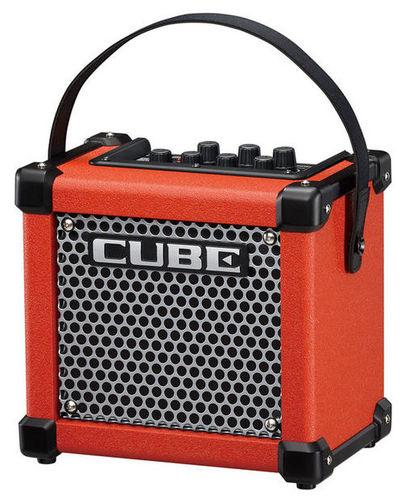Гитарный усилитель Roland MICRO CUBE GX Red гитарный комбоусилитель roland cube street ex