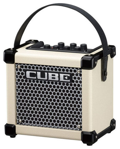 Гитарный усилитель Roland MICRO CUBE-GX White гитарный комбоусилитель roland cube street ex