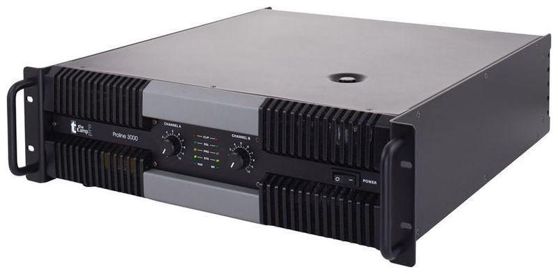 Усилитель мощности 850 - 2000 Вт (4 Ом) the t.amp Proline 3000