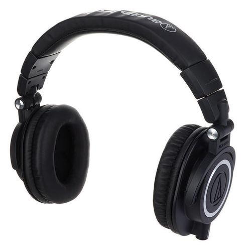 Наушники закрытого типа Audio-Technica ATH-M50X Bk вставные наушники audio technica ath ckb50 черный купон код jd1601 сумма покупок от 50$ скидка 5$ от 100$ скидка 10$