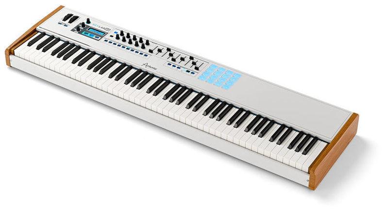 MIDI-клавиатура 88 клавиш Arturia KeyLab 88 midi клавиатура 32 клавиши arturia keystep