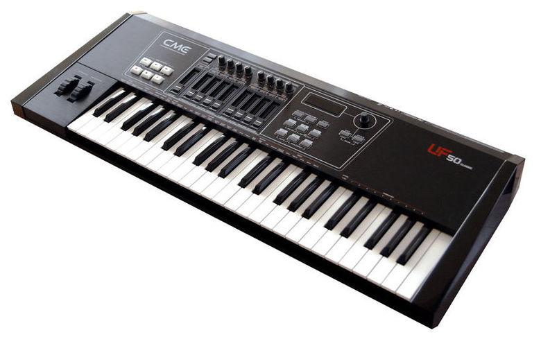 MIDI-клавиатура 49 клавиш CME UF-50 клавиатура