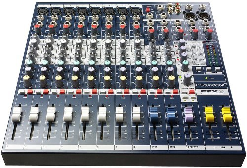 Аналоговый микшер Soundcraft EFX8 soundcraft vi series madi card