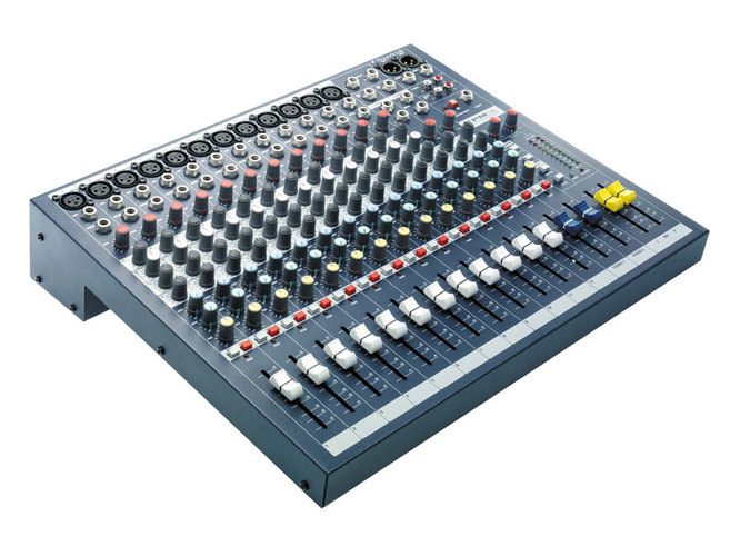 Аналоговый микшер Soundcraft EPM12 soundcraft vi series madi card