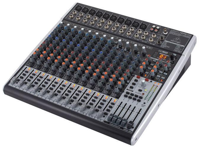 24-канальный микшер Behringer XENYX X 2442USB 24 канальный микшер behringer sx2442fx eurodesk