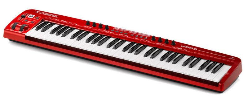MIDI-клавиатура 61 клавиша Behringer UMX610 midi клавиатура 61 клавиша nektar impact lx61