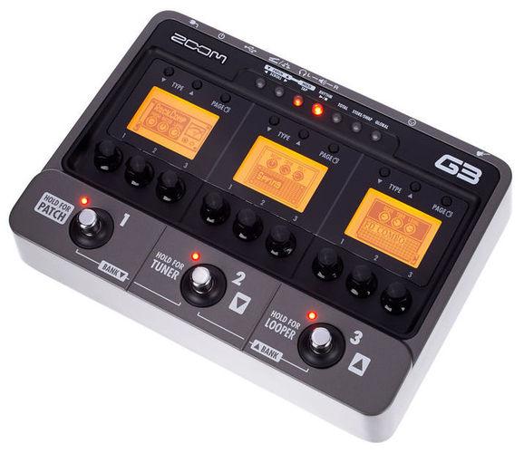 Гитарный процессор для электрогитары Zoom G3