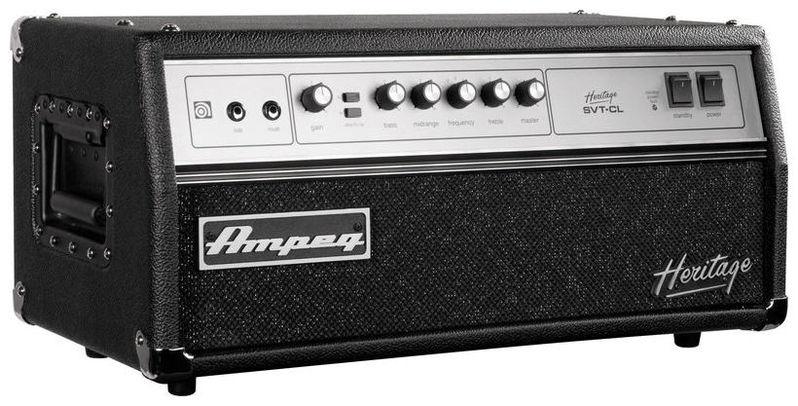 Усилитель голова для бас-гитары AMPEG HSVT-CL усилитель для бас гитары ampeg svt 3pro