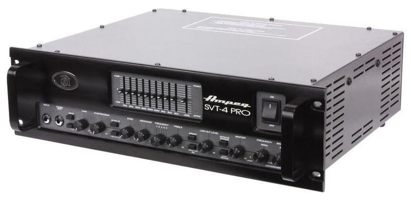 Усилитель для бас-гитары AMPEG SVT-4PRO усилитель для бас гитары ampeg svt 3pro