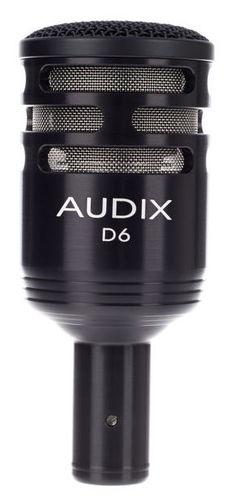 Универсальный инструментальный микрофон AUDIX D6 audix t365ca