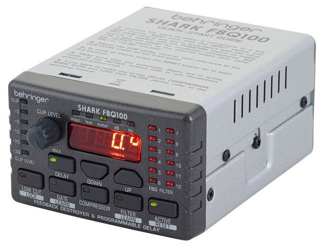 Ди-бокс Behringer SHARK FBQ100 аксессуар behringer микрофонный предусилитель mic2200