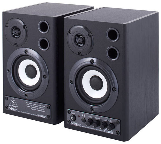 Активный студийный монитор Behringer MONITOR SPEAKERS MS20 buy monitor with speakers