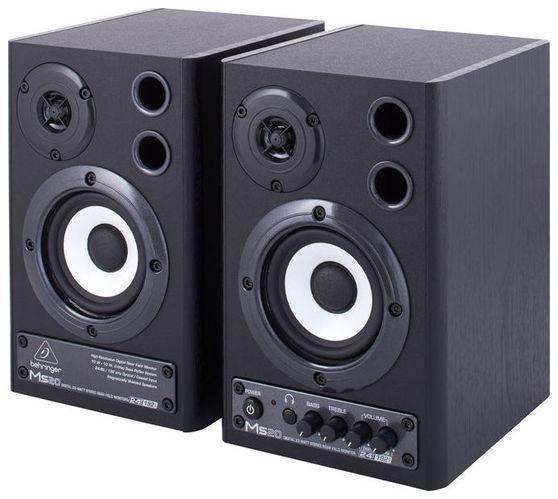 Активный студийный монитор Behringer MONITOR SPEAKERS MS20 buy jbl monitor speakers