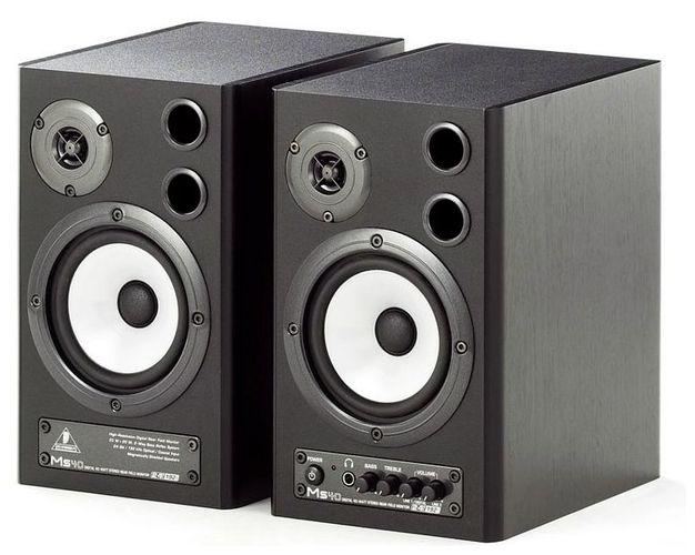 Активный студийный монитор Behringer MONITOR SPEAKERS MS40 студийные мониторы tascam vl s3bt